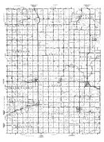 Murray County Highway Map 1, Murray County 1961